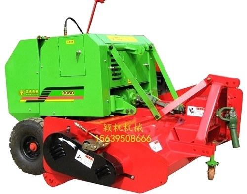 打捆机使用前对拖拉机的要求和牵引杆的调整